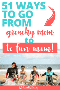 Find yourself going through the motions as a mom? Try these super simple ways to bring the fun back into motherhood! Become the fun mom your kids need! #motherhood #kidsandparenting #parenting #momlife