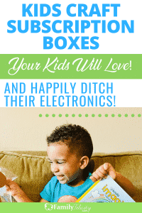 These kids craft and activity subscription boxes are my children's favorites. And your kids will love them too and happily ditch their TV and electronics! #learning #crafts #smartactivities #kids #kidsandparenting #parenting