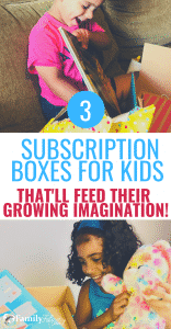 These creative and engaging subscription boxes for kids will have your kids begging to play! #kidsandparenting #parenting #kids #activities #reading #crafts #kids