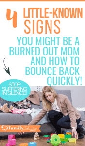 The mom burnout struggle is real! Stop suffering in silence and get the secret to bouncing back quickly! #momadvice #parenting
