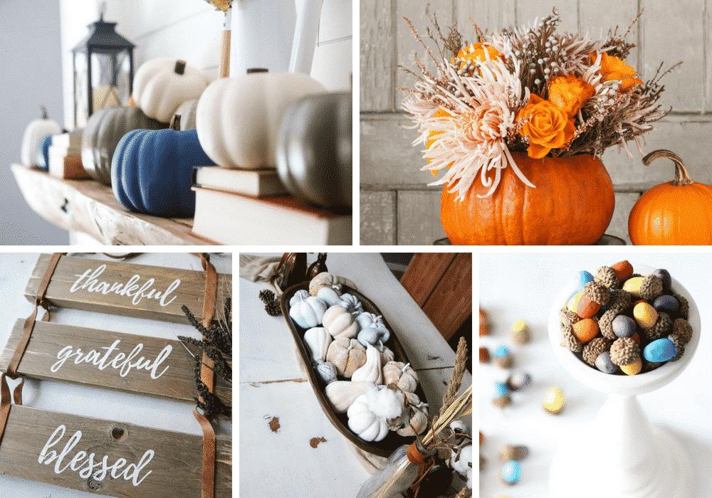 Fall inspired DIY Home Decor