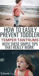 Learn the mom tricks to preventing the dreaded toddler temper tantrum from ever showing up! Yes, they work! #kidsandparenting #parenting #parentingtips #parenting101 #momlife