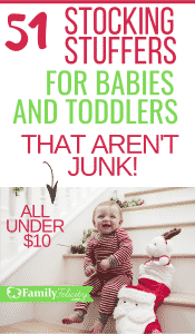 These adorable stocking stuffers are especially for toddlers and sweet little babies. Plus, they are great and not one is junk! #kidsandparenting #parenting #parentingtips #christmas #holidays