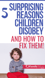 Back talk, tantrums, and intentional disobedience are often the result of these 5 reasons. And these positive discipline tips will help you raise happy and more obedient kids. #kidsandparenting #parenting #kids #toddlers