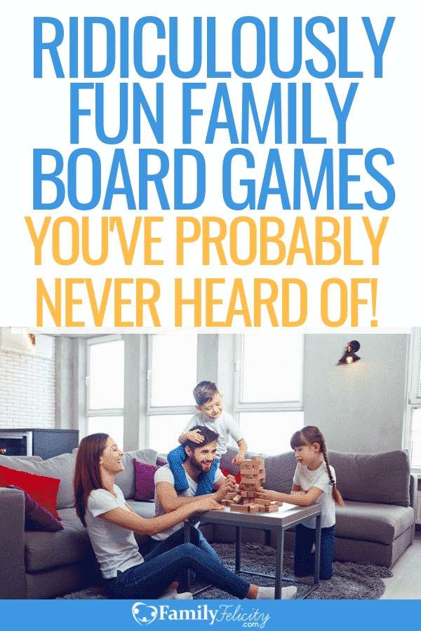 Looking for fun and addictive family board games? These are the best board games your family will not want to stop playing on your next family game night. And you probably have never heard of most of them! #boardgames #familytime