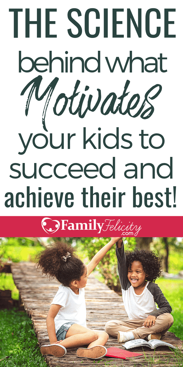 What to know the secret to getting kids self motivated to succeed? This surprising study shares insight that you can start using with your kids today! #kidsandparenting #parenting101 #parenting