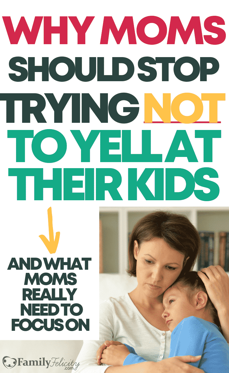 With all the advice telling moms to stop yelling at their kids, I believe this is bad advice for moms. Why? Because there's something huge that's missing when we say to moms to just stop and calm down. Here's what moms should focus on instead... #kidsandparenting #momanger #parentingtips